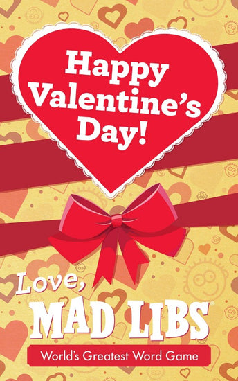 shiny book cover with a valentine's day design