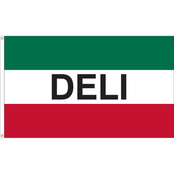 3'x5' Deli Nylon Flag