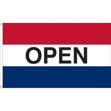 3'x5' Open Nylon Flag (Various Color Options)