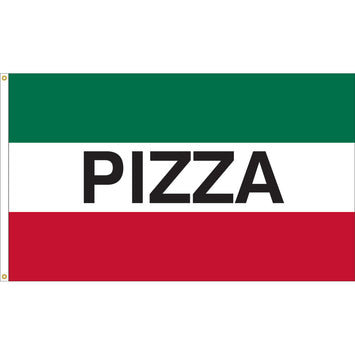 3'x5' Pizza Nylon Flag