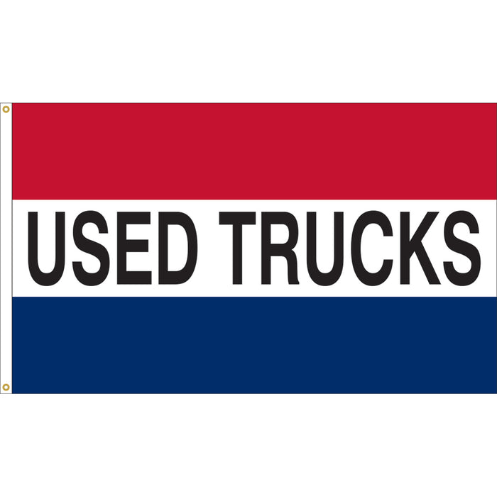 3'x5' Used Trucks Nylon Flag