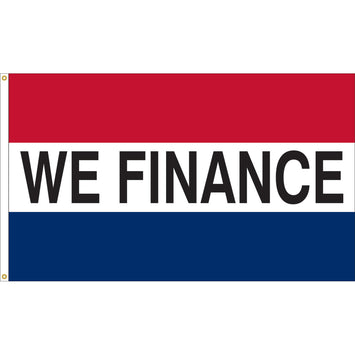 3'x5' We Finance Nylon Flag