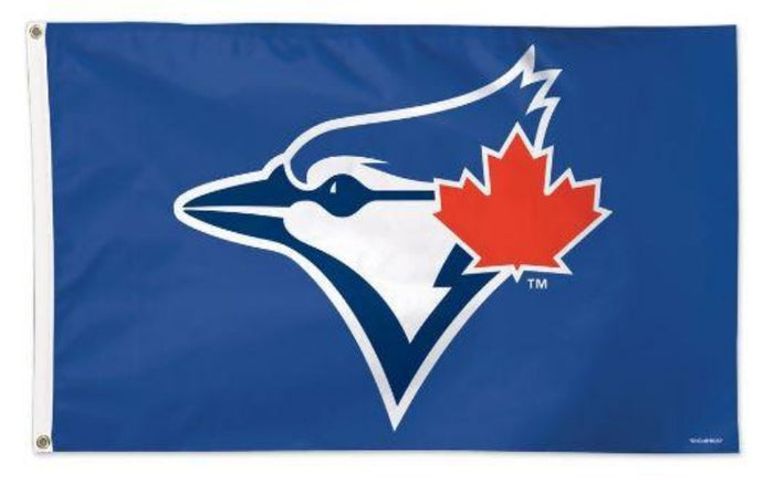 3X5' DELUXE BLUE JAYS FLAG