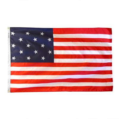 Star Spangled Banner Dyed Nylon Flag