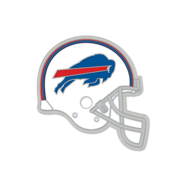 buffalo bills white helmet lapel pin