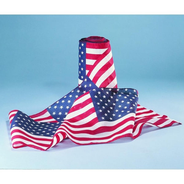 patriotic rolled bunting made in usa