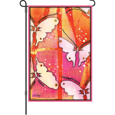 MARIPOSA DECORATIVE GARDEN FLAG