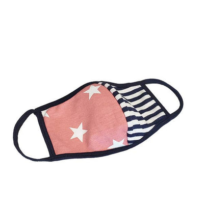 Patriotic Face Mask - Adult Size Made in the USA