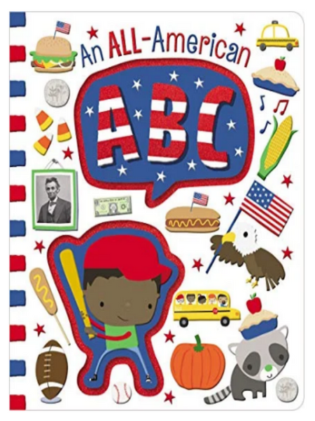 an all american abc's book cover