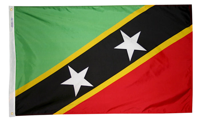 Saint Kitts & Nevis Nylon Flag