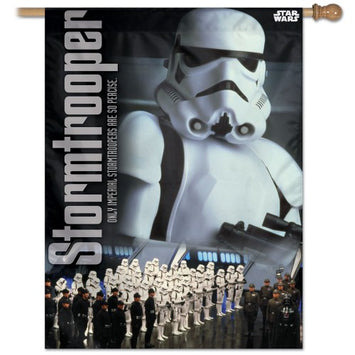 DISNEY STAR WARS STORMTROOPER BANNER