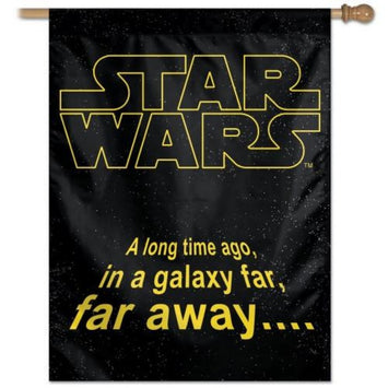 DISNEY STAR WARS LOGO BANNER