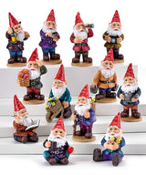 photo showing the different styles of gnomes