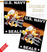US Navy Seals Banner Flag