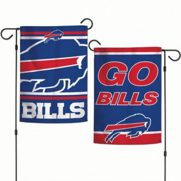 Buffalo Bills Double Sided Large Logo Garden Flag
