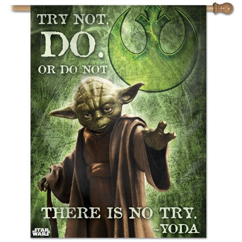 DISNEY STAR WARS YODA BANNER