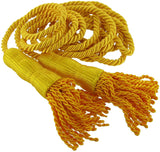 golden cord with two end tassels