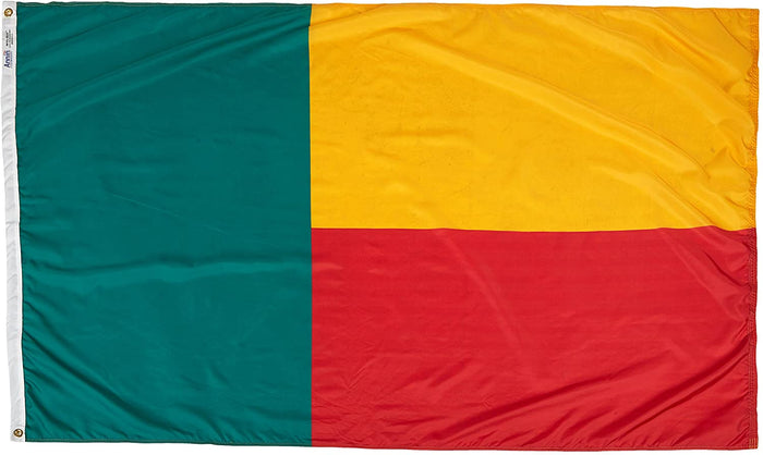 BENIN - INDOOR FLAG