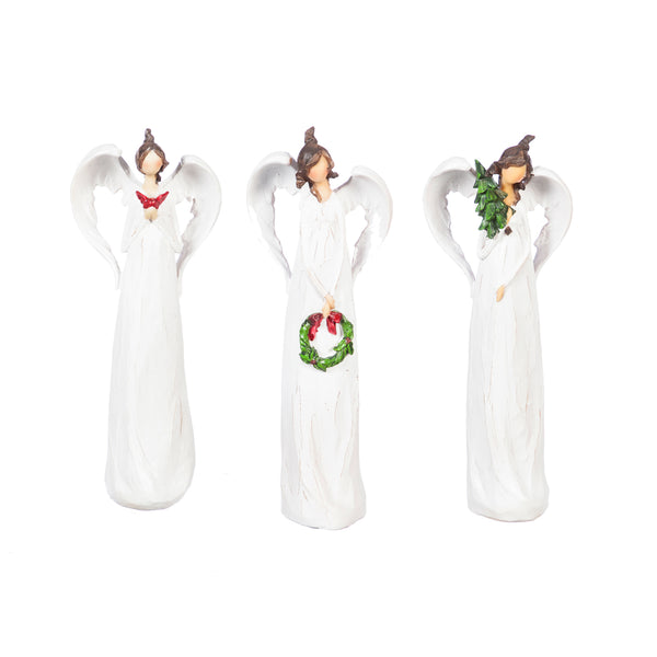 ceramic angel tabletop decorative christmas holiday gift