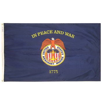 Merchant Marine Nylon Flag