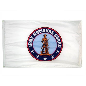 3X5 FT NYLON ARMY NATIONAL GUARD FLAG
