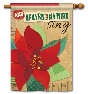 HEAVEN AND NATURE SING BANNER FLAG