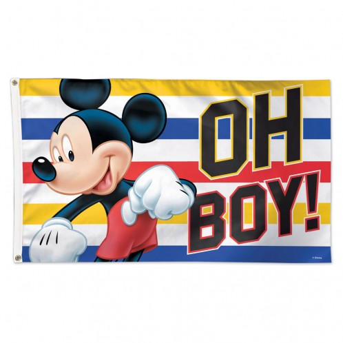 3'x5' Mickey Mouse Polyester Flag