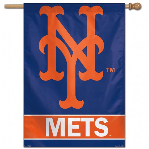 MLB NEW YORK METS BANNER FLAG