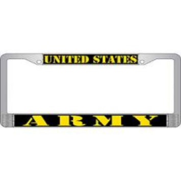 LICENSE PLATE FRAME - U.S. ARMY