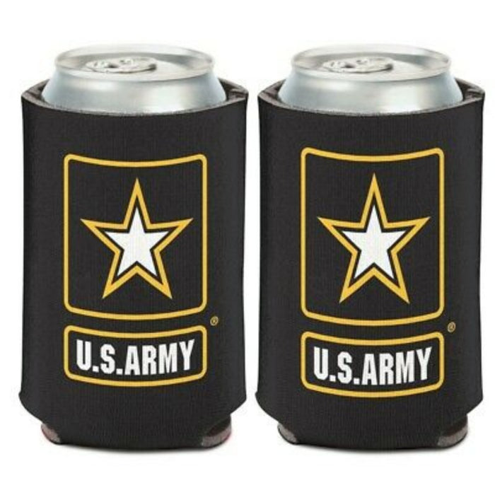 US ARMY LOGO CAN COOLER