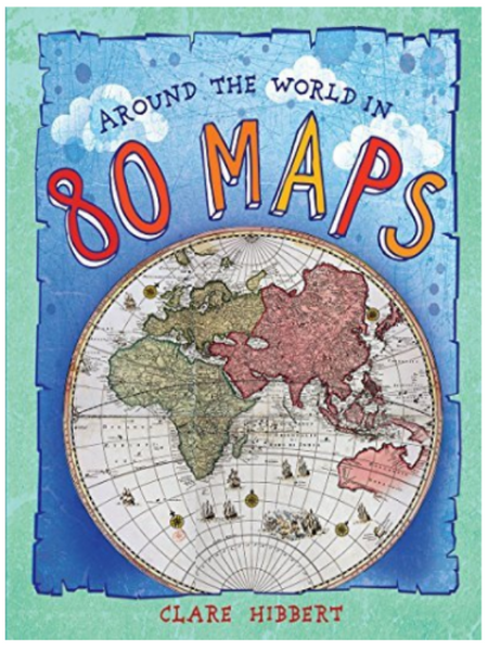 BOOK COVER WITH A DRAWING OF HALF OF A GLOBE ON IT