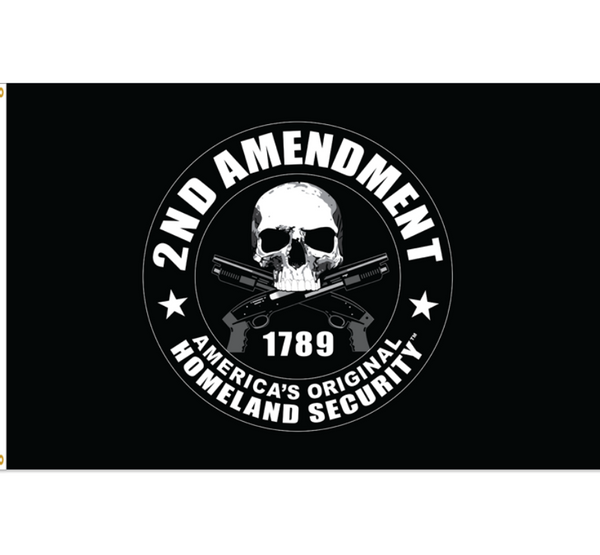2nd Amendment 3x5 ft Polyester Flag