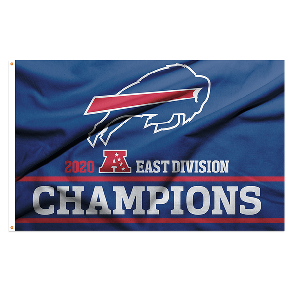 buffalo bills afc east champ 3x5 flag