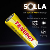 RECHARGEABLE BATTERY FOR SOLAR LIGHTS