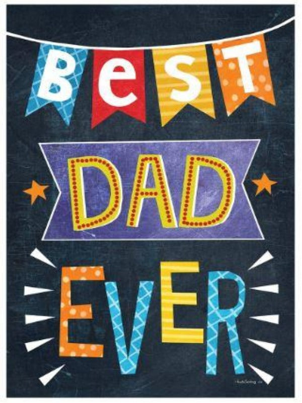 BEST DAD EVER BANNER FLAG