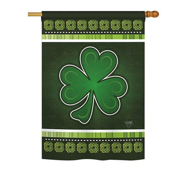 SHAMROCK DECORATIVE FLAGS