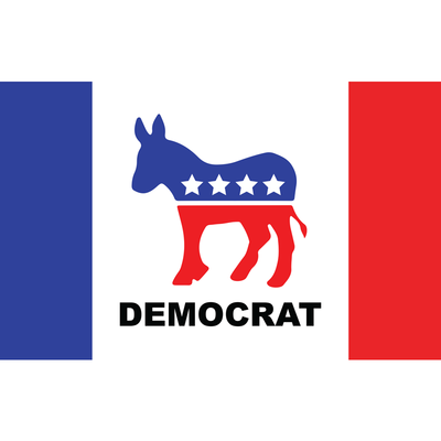 DEMOCRAT DECAL