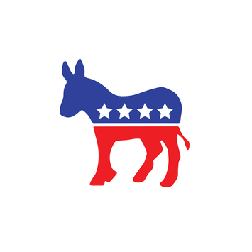 DEMOCRAT SYMBOL DECAL