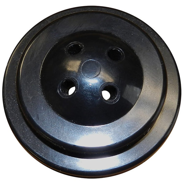 4 Hole Black Plastic Base for 4x6