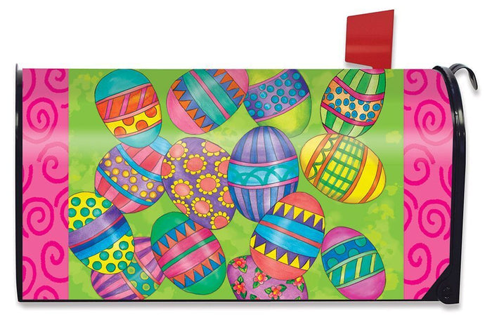 Easter Eggs Mailbox Cover