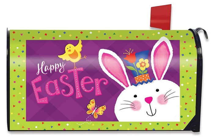 Easter Greetings Mailbox Cover
