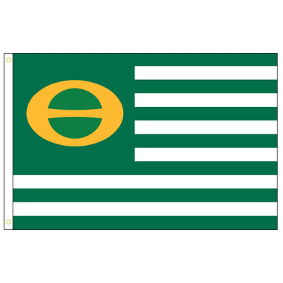 3 by 5 foot Ecology Nylon Flag