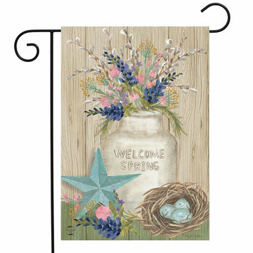 Gifts of Spring Garden Flag
