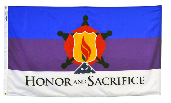 3'x5' Honor and Sacrifice Nylon Flag