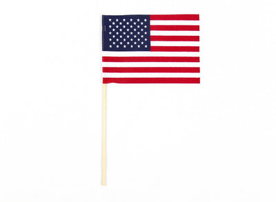 U.S. Stick Flag Without Tip
