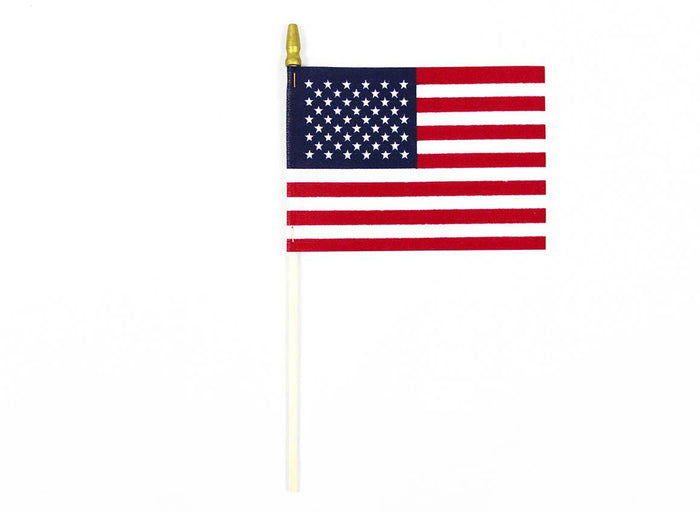 U.S. Stick Flag With Tip