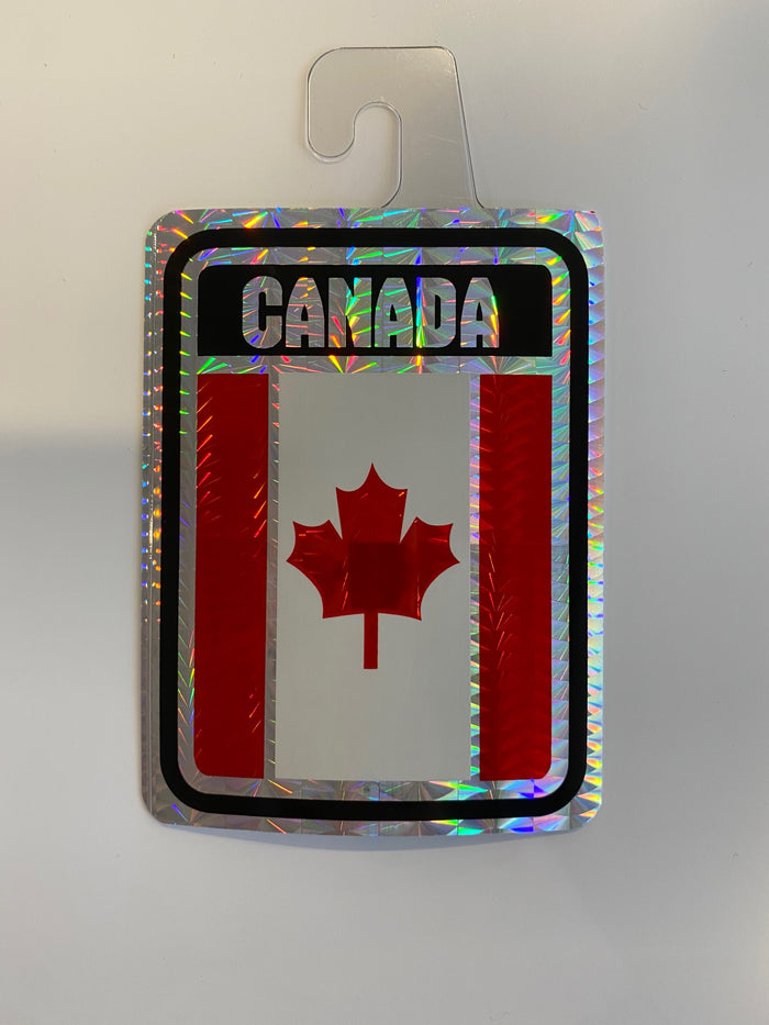 CANADA HOLOGRAPHIC STICKER