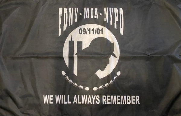 FDNY NYPD 9/11 MIA First Responders