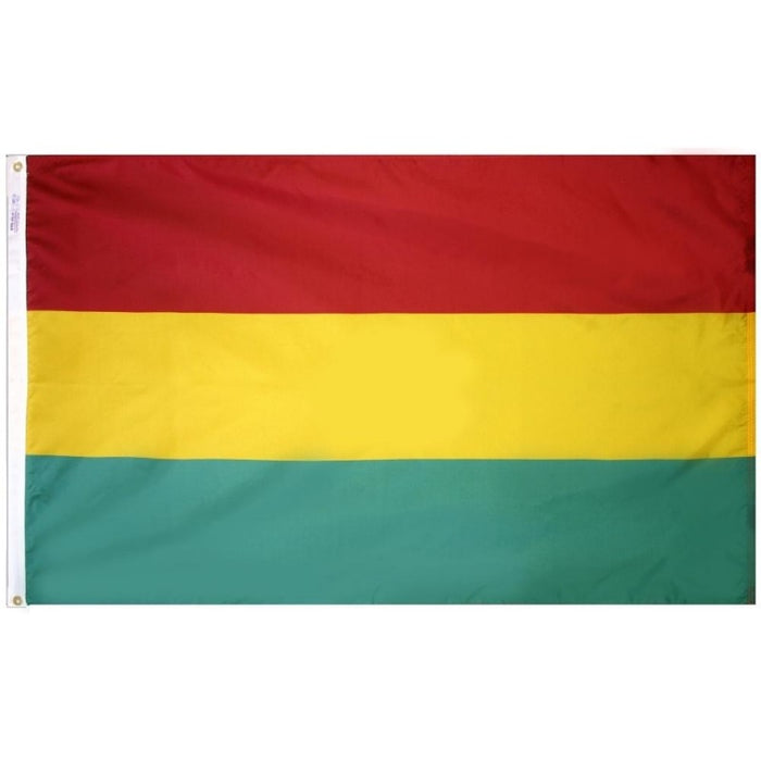 Bolivia (Civil) Nylon Flag
