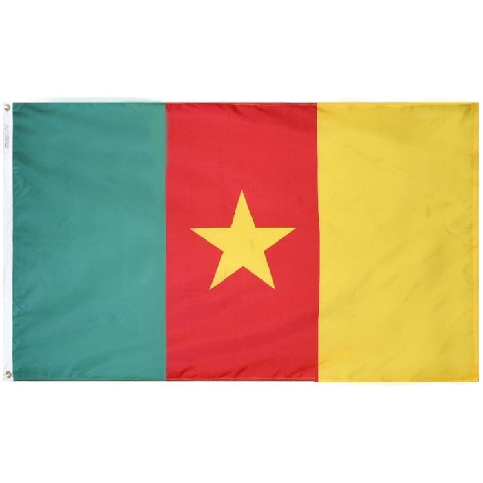 Cameroon Nylon Flag